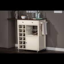 meryland white modern kitchen island cart overstock com shopping