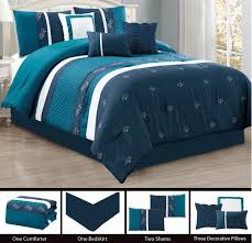 Navy Blue Bedding Set by Blue Bedding Sets Peaceful Calm Serene Retreat From Chaos