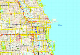 Map Of City Of Chicago by United Illustrator Eps City U0026 Country Maps Part 10