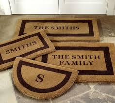 Long Doormats Personalized Doormat Pottery Barn