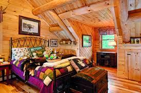 Log Home Interior Photos A Couple U0027s Maine Log Home Is Their Second