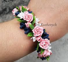 handmade flower bracelet images 159 best polymer clay images polymers polymer jpg