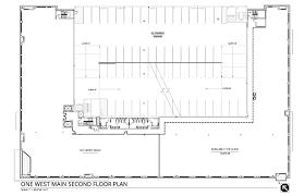 floor plans one west main