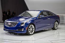 cadillac ats 3 6 premium unveiling the 2015 cadillac ats coupe live at the 2015 detroit