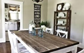 farmhouse kitchen table sets mada privat
