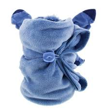 parks stitch character cuddle plush blanket new with tags