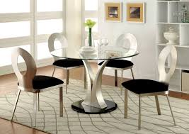 Pedestal Table Base For Glass Top Contemporary Glass Top Dining Tables 9240