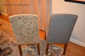 How To Reupholster Dining Chair How To Reupholster Parsons Chairs