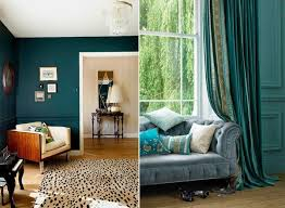 Teal living room design ideas – trendy interiors in a bold color