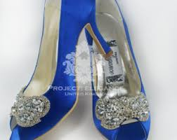 wedding shoes etsy blue bridal shoes etsy