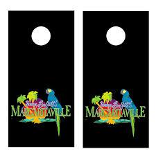 margaritaville logo black jimmy buffett board decal set