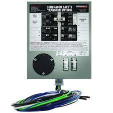amazon com generac 6376 30 amp 6 10 circuit indoor manual