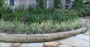Rock Borders For Gardens Rock Landscape Edging Borders