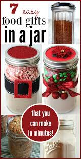 food christmas gifts 7 food gifts in a jar christmas gifts food gifts