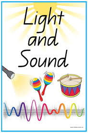 Light Words 44 Light And Sound Vocabulary Words And Pictures