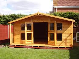 Summer Houses For Garden - 14 x 10 2 shed heads garden sheds