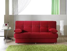 Microfiber Sofa Sleeper Microfiber Contemporary Sofa Sleeper W Storage