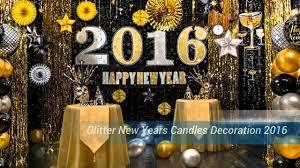 decorating amazing glitter new years decorations ideas 2016