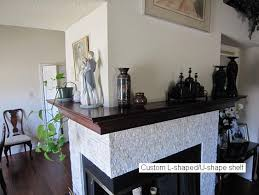 Fireplace Mantel Shelves Designs by Wood Mantel Shelves Gallery Mantel Ideas Special Shapes Gallery