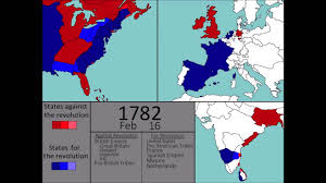 1783 Map Of The United States by Wars The American Revolutionary War 1775 1783 Every Week Youtube