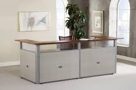 Reception Station Desk Ofm Pg297 2 Rize 120 U Shaped Modern Reception Counter
