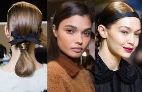 pfw runway hairstyles 2017 fall season hairdrome com
