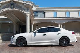 maserati ghibli grey black rims re in car nated