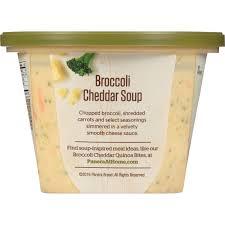 panera bread at home broccoli cheddar soup 16 oz microwave bowl