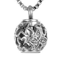 urn necklace for ashes valyria hollow diamond butterfly always in my heart