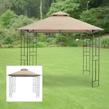 Bbq Gazebo Walmart by Garden Winds Replacement Canopy For Gazebos Sold At Walmart Or