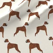 boxer dog yard art boxer dog dogs boxer cute dog pet dogs boxer fabric for