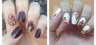 18 easy u0026 cute thanksgiving nail art designs ideas u0026 stickers