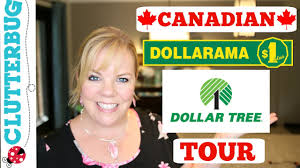 canadian dollar store tour shop with me dollarama and dollar