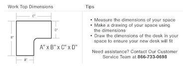 L Shaped Desk Dimensions Desk L Shaped Desk Dimensions Dimensions L Shaped E How To