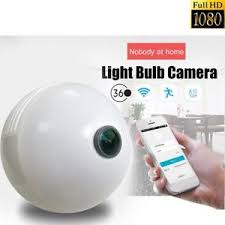 light bulb security system wireless wifi 1080p hidden spy camera light bulb security system led