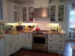 brick backsplash in kitchen minneapolis white brick backsplash kitchen traditional with