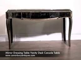 Dressing Table Vanity Mirror Dressing Table Vanity Desk Console Table Youtube