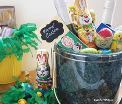 custom easter baskets this is how i do easter baskets confettistyle