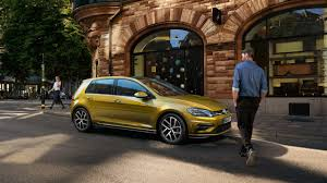 volkswagen yellow golf