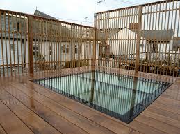 Oak Trellis Roof Terrace With Oak Decking Brighton Arbworx