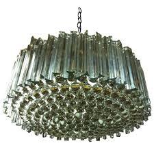 Glamorous Chandeliers Huge Exquisite Venini Murano Glass Chandelier 36