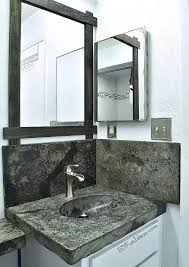 how to make a concrete countertop or vanity with integral sink