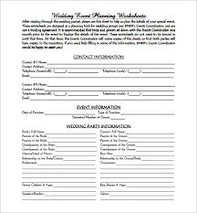 event planning template 5 free word pdf documents download