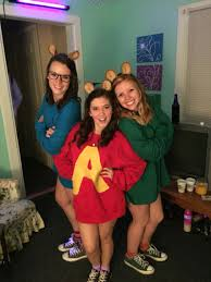 diy alvin and the chipmunks costume h a l l o w e e n