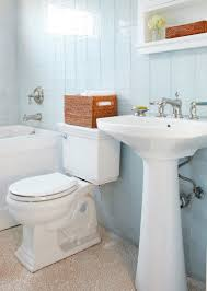 Acrylic Bathroom Shelves by Alluring Bathroom Classic Design With White Marble Bathroom And