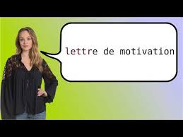 how to say u0027cover letter u0027 in french youtube