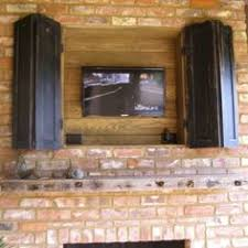 Rv Under Cabinet Tv Mount Cabinet Next To Or Above The Refrigerator Tv With A Pullout
