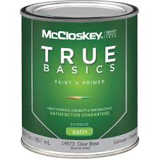 mccloskey true basics latex paint u0026 primer satin exterior house