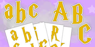 themed letters magic themed display letters and numbers magic display
