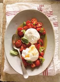 comment cuisiner la mozzarella burrata à la tomate cerise confite ricardo